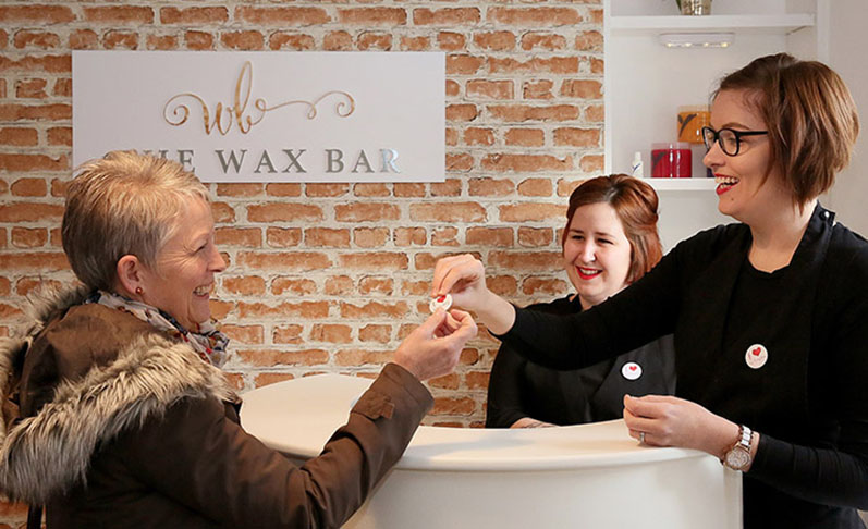 contact the wax bar