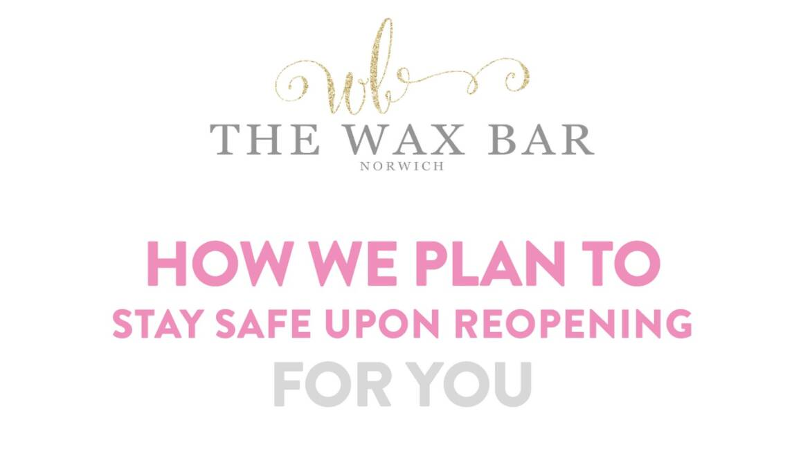 The wax bar - covid-19 salon policy